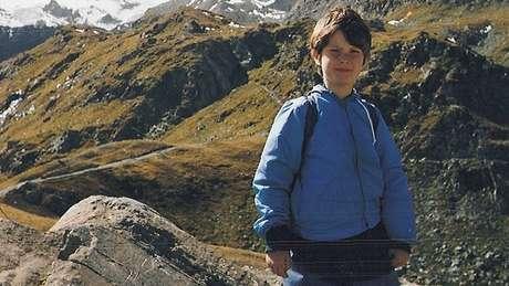 Nicholas Green durante a viagem na Itália