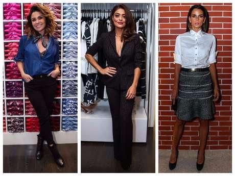 Giovanna Antonelli, Juliana Paes e Fernanda Motta