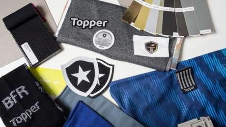 Detalhes da nova vestimenta alvinegra divulgados pelo clube nas redes sociais (Foto: Reprodução/Twitter)