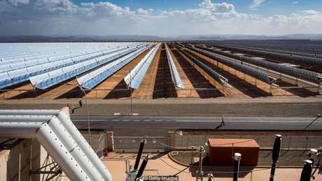 A quantidade de sol da África pode tornar o continente um exportador de energia solar no futuro