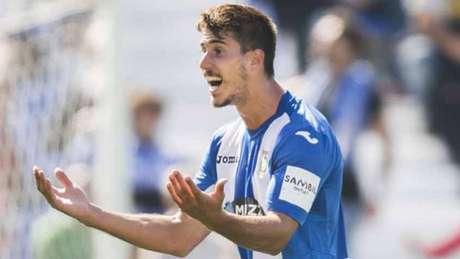 Gabriel marcou o gol do Leganés (Foto: Reprodução/Internet)