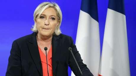 Apesar de votação recorde para seu partido, desempenho de Le Pen nas urnas ficou abaixo do esperado