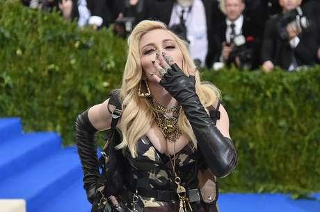 Madonna en la MET Gala 2017.