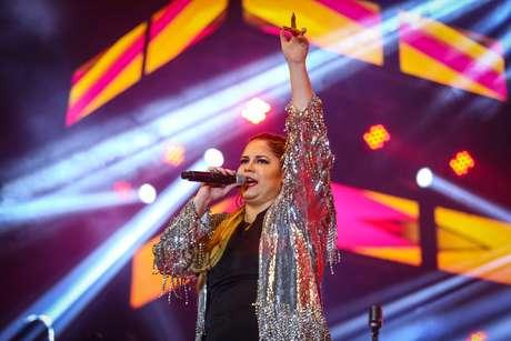 Marília Mendonça brilhou na Festa das Patroas, na Arena Anhembi, nesse domingo (7), em São Paulo.