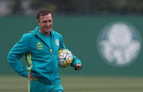 Cuca está de volta ao Palmeiras (Foto: Cesar Greco)