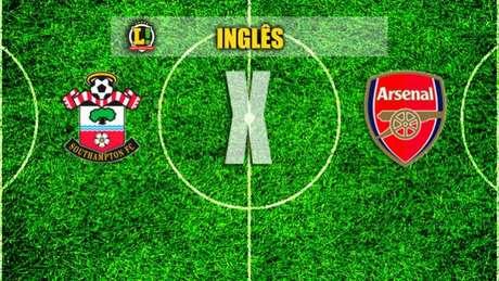 Cédric titular do Southampton na derrota frente ao Arsenal