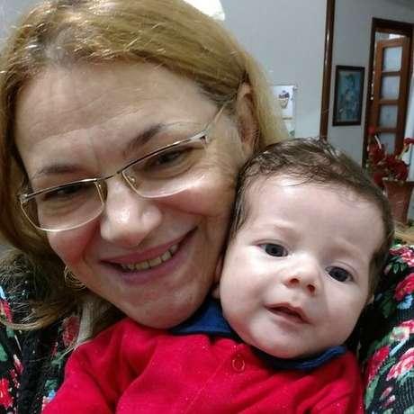 Matheus, de três meses, ficou 14 dias internado na UTI em São Paulo por causa do VSR; a maioria das crianças se recupera da doença sem necessidade de internação, segundo médicos