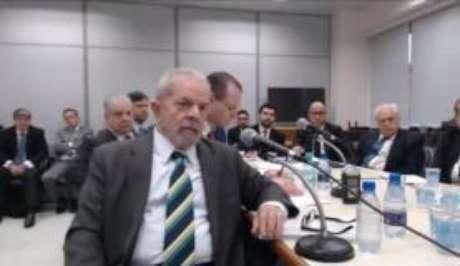 O ex-presidente Luiz Inácio Lula da Silva prestou depoimento ao juiz Sérgio Moro