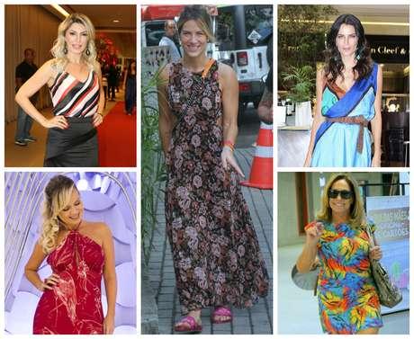 Antonia Fontenelle, Giovanna Ewbank, Fernanda Motta, Eliana e Susana Vieira