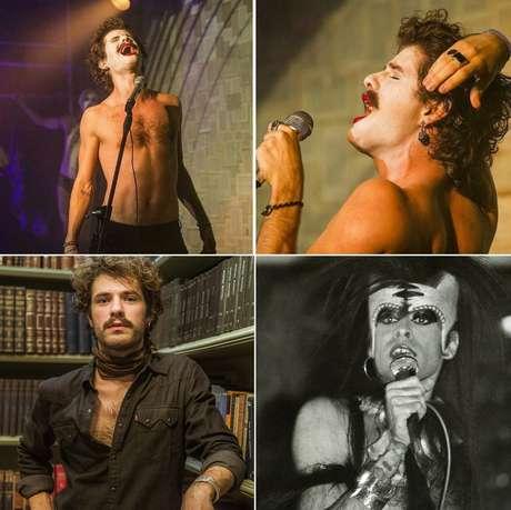 Maurício Destri vive papel inspirado na fase setentista de Ney Matogrosso
