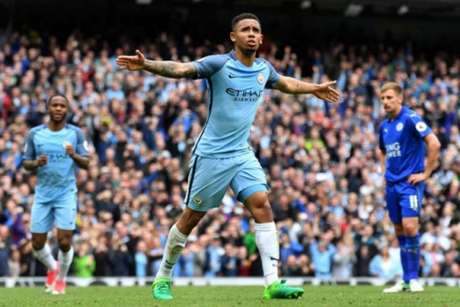 Manchester City x Leicester - Gabriel Jesus