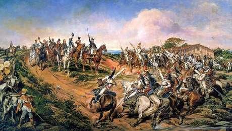 O chamado 'Grito do Ipiranga' aconteceu em 7 de setembro de 1822