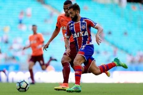 Atlético-PR jogou com um time alternativo e acabou goleado na Arena Fonte Nova (Foto: Divulgação/ Bahia)