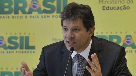 Especula-se em Brasília que Fernando Haddad seria o nome do PT como vice em um possível coligação caso Lula não se candidatasse