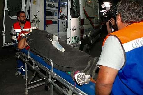 Bus chocó contra peaje en Región del Biobío: El conductor murió