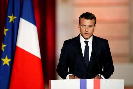 Macron é oficialmente proclamado presidente da França
