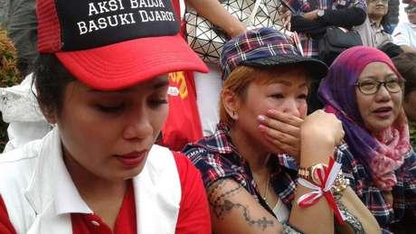 Apoiadores de Ahok manifestaram surpresa com a decisão