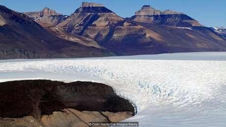 Bactérias dormentes foram encontradas em geleiras antárticas
