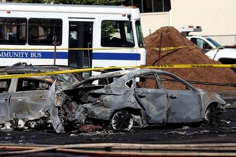 Acidente de avião faz dois mortos (vídeo) — Nova Jérsia