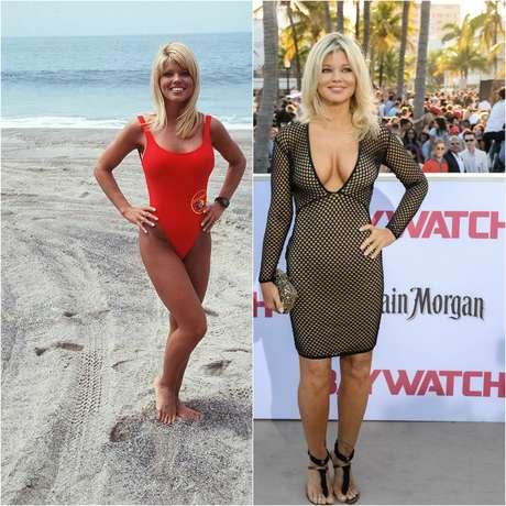 Antes y después de Donna D'Errico.