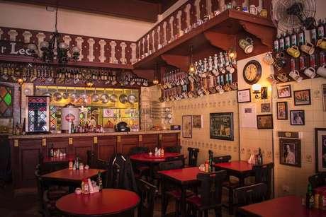 O Bar Léo é um dos mais tradicionais bares de São Paulo