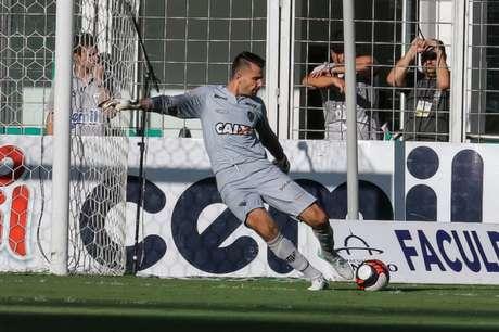 O pai do goleiro Victor morreu nesta segunda-feira (Foto: Bruno Cantini/Atlético-MG)