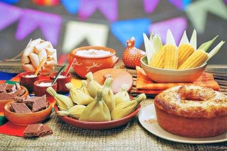 A festa conta com versões veganas de pratos típicos juninos