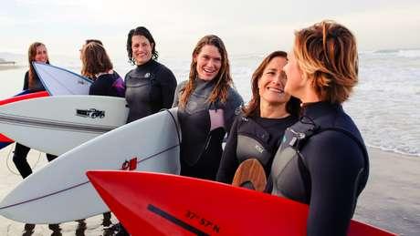 Após anos de lobby, surfistas conseguiram a promessa de um campeonato feminino em Mavericks