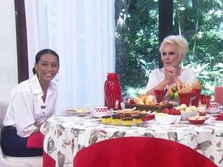 Ana Maria Braga cozinhou para Taís Araújo e Fernanda de Freitas no 'Mais Você', mas a mulher de Lázaro Ramos recusou o nhoque de abóbora