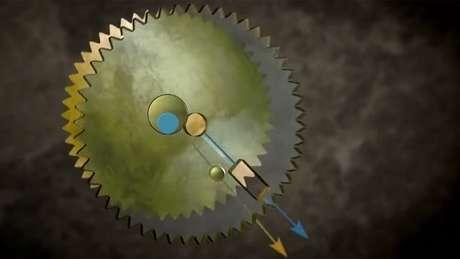Um mecanismo complexo para desvendar os caprichos da Lua