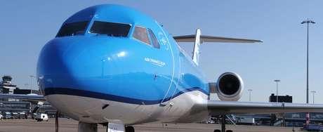 Willem-Alexander pilotou um Fokker 70 por anos, mas agora treina para um avião maior, o Boeing 737