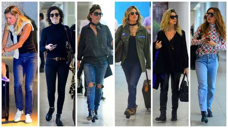 Déborah Secco, Sophia Abrhão, Giovanna Antonelli, Giovanna Ewbank, Leticia Spiller e Sabrina Sato