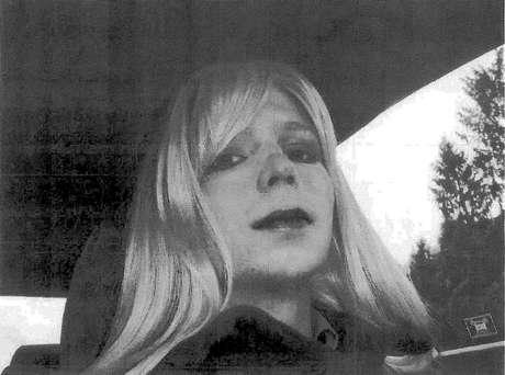A ex-militar Chelsea Manning, que em 2010 vazou documentos secretos ao site WikiLeaks.