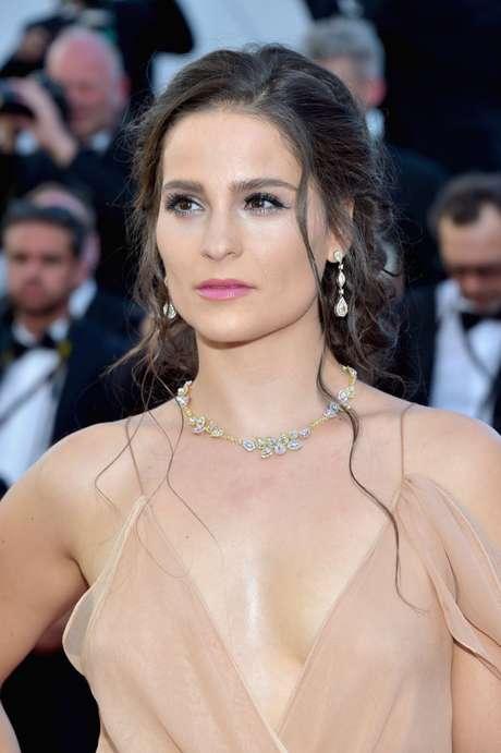 Gianna Simone en el día 1 de Cannes 2017.