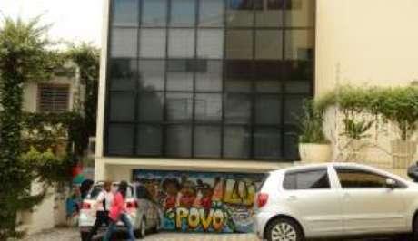 Fachada do Instituto Lula, em Ipiranga.