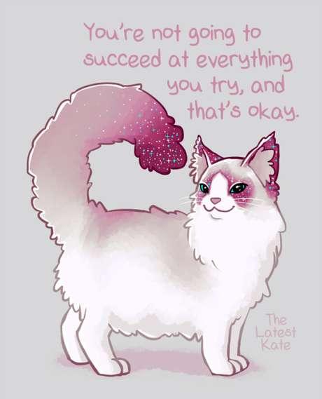 Você não vai ter sucesso em tudo que tentar, e está tudo bem