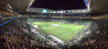 Palmeiras poderá receber seus torcedores contra o Tucumán (Foto: Thiago Ferri)