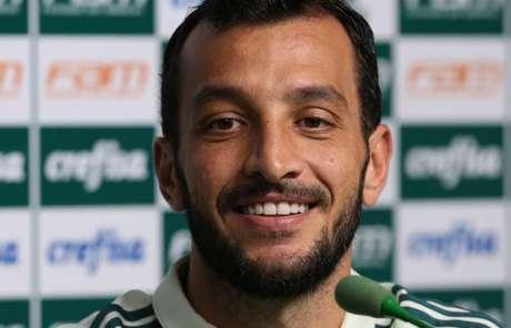 Edu Dracena completou 36 anos nesta quinta-feira (foto: Divulgação/Palmeiras)
