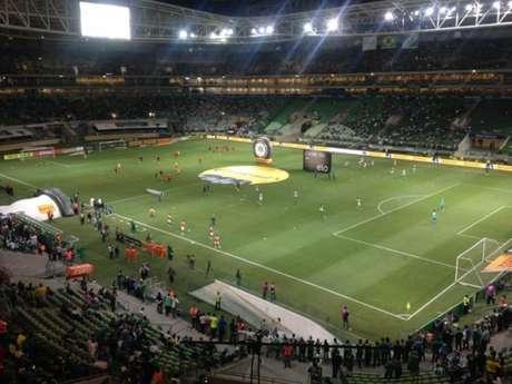 Allianz Parque antes do jogo entre Palmeiras e Inter - Foto: Fellipe Lucena