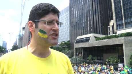 Rogério Chequer, do Vem Pra Rua, foi um dos organizadores de atos contra o PT