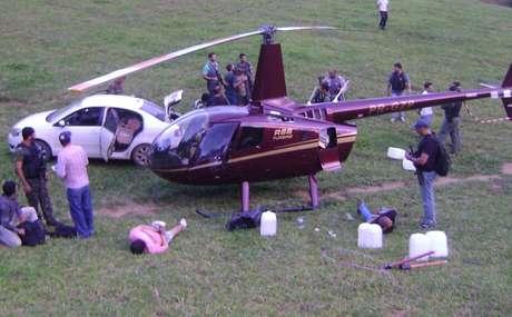 Helicóptero que pertence à empresa do deputado mineiro Gustavo Perrella foi apreendido com mais de 400 quilos de cocaína no Espírito Santo.