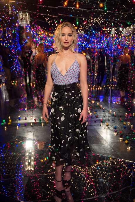 Jennifer Lawrence perdió el pudor en una fiesta.