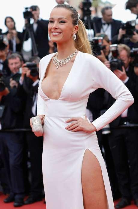 Petra Němcová en Cannes 2017.