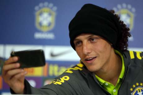David Luiz - Coletiva Seleção Brasileira (Foto: Ari Ferreira/ LANCE!Press)
