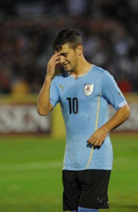 Meia foi convocado e deverá desfalcar o Cruzeiro em duas partidas (Foto: MIGUEL ROJO / AFP/Lancepress!)