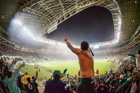 Torcida deve comparecer em peso para apoiar o time no jogo que vale vaga nas oitavas (foto: Divulgação/Palmeiras)