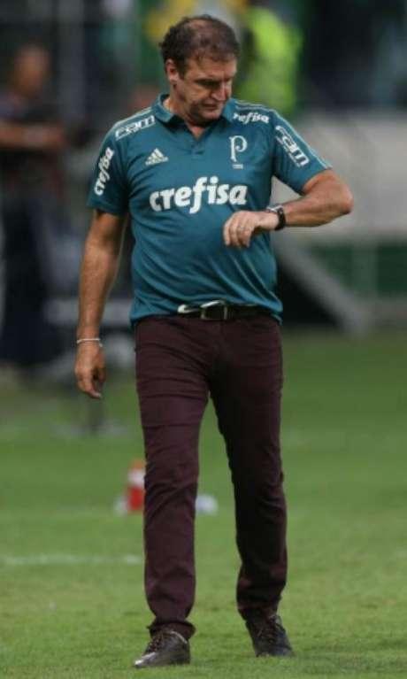 Palmeiras ficou concentrado na Academia até que voo para Chapecó fosse remarcado (foto: Cesar Greco)