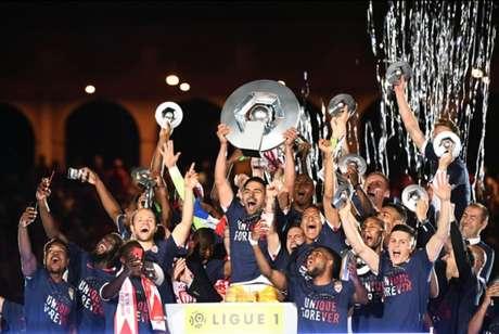 Monaco chegou ao título com uma rodada de antecipação (Foto: BORIS HORVAT / AFP)
