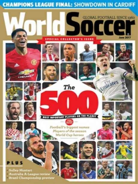 World Soccer divulgou a lista dos 500 melhores; Palmeiras é o brasileiro com mais representantes (foto: Reprodução)