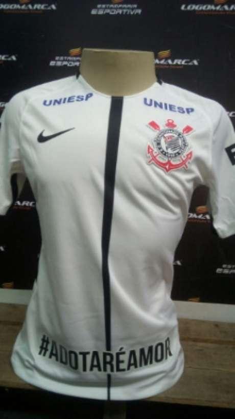 Camisa terá hashtag estampada na barra frontal (Foto: Divulgação)